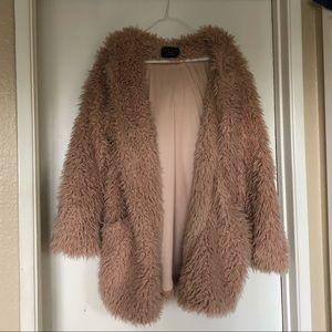 NWOT soft amazing furry jacket